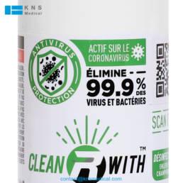 Desinfectant Anti COVID avec Traçabilite Par QR Code